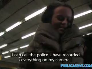Publicagent ticket inspector fucks un passager con no ticket