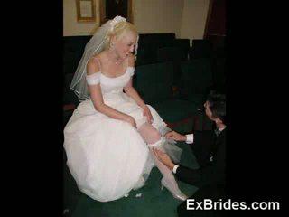 Echt slutty brides!