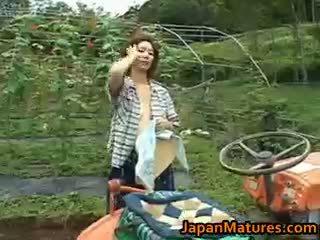 Chisato shouda aziatisch rijpere chick gets part6