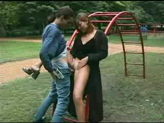 Couple fucked at the play park Video