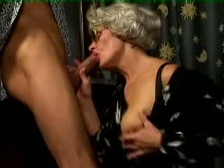 Busty Granny Fucked By Young Boy Video
