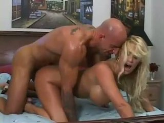 Sexy babe Shyla Stylez anal fucked hard doggystyle and gets creamed