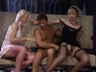 group sex, threesomes, vintage, german