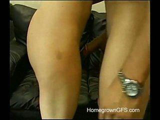 Desiree Gags A Cum From A Hard Pork Dagger