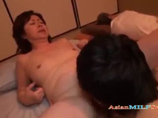 Mature Woman Getting Her Hairy Pussy Licked And Fucked
