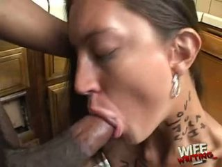 Essy Moore Doing A Hard Head Job For Black Lad