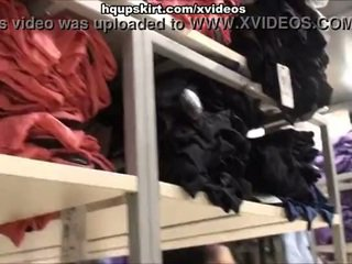 Tons of hot panty upskirt from the store