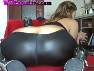 Heet brunette webcam meisje anaal dildo