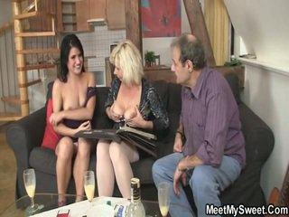 He Leaves Girlfriend Beside His Hot Parents
