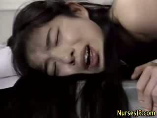 heetste japanse, exotisch film, plezier verpleegkundigen video-