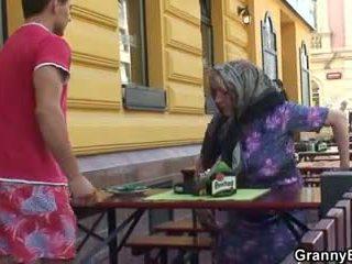 oud seks, grootmoeder mov, zien oma neuken