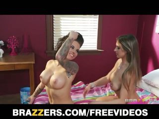 Christy mack & rachel roxxx take turns