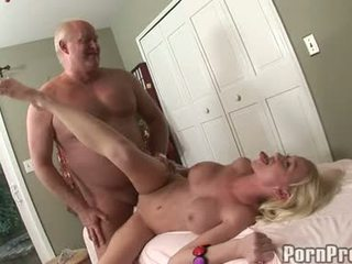 Madison Scott Sits On Her Old Man's Doinker Feeling The Outstanding Enjoyment