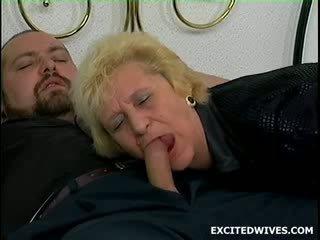 oud, grootmoeder, heet oud neuken