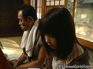 Haru sakuragi এশিয়ান স্কুলগার্ল has যৌন