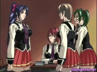 Seksikas anime lesbid tegemine armastus
