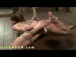 Hispanic Babe In Unforgiving Bondage