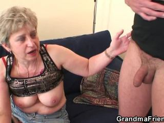 Grandma Has Pair Tackles After Self Abuse