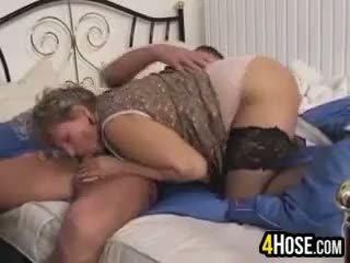 granny sex, full blowjob scene, fat scene