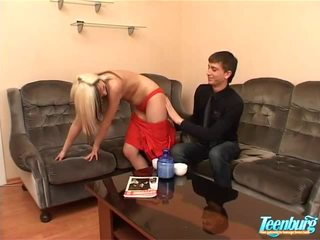 Teen Having Her Condensed Fascinating Vagina