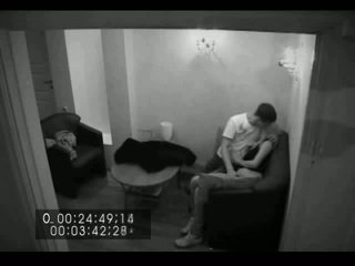 Blonde Russian Girl Fucking In Security Cam
