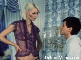 Wintaž porno 1970s - seka gets what she wants