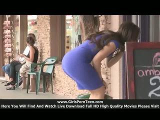 Sofia tizenéves nyilvános nudity videó