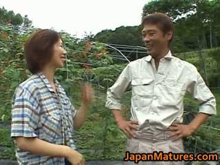 Chisato shouda אסייתי בוגר חתיכה gets