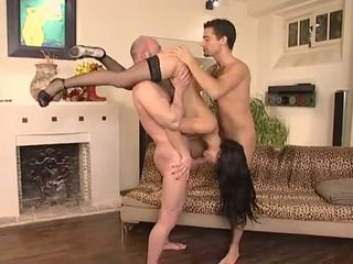 brunette seks, online orale seks, meest dubbele penetratie neuken