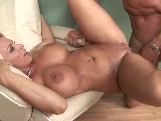 Blonde Pornstar Holly Halston Sucking Dick And Getting Fucked Hard