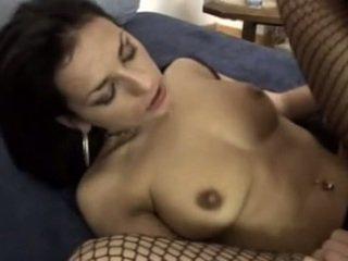 brunette klem, orale seks video-, vaginale sex film