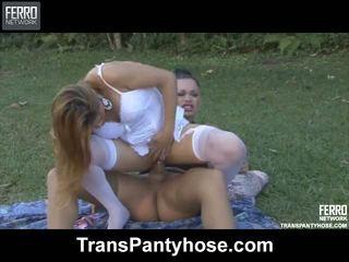 Andressa vivi tranny sukkpüksid tegevus