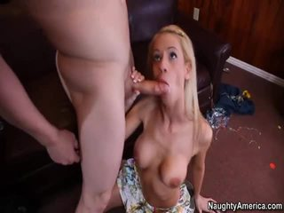 Youthful Stacked Blonde Kaylee Hilton Acquires It On