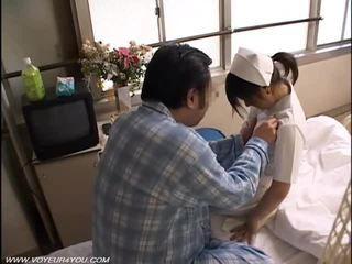 Noite dever enfermeira sexo voyeur