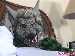 Long haired foxy anya fucked by the bad wolf