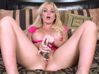 Big Titted Blonde Angela Sommers In Pink