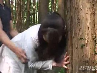 japanse seks, vers buiten-, heet amateur klem