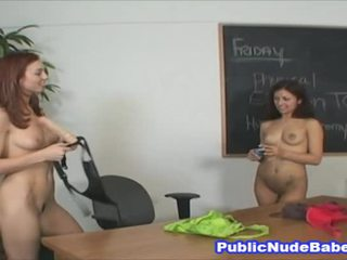 Sexy Hot Chicks With Strapon Toy
