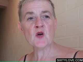 ouder, grootmoeder seks, vers oud kanaal