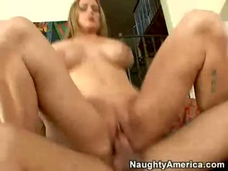 Large Boobed Milf Abby Rode Receives Her Juicy Pussy Boned Hard