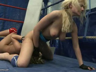 Anita Hengher And Bianca Arden Finger Fuck In The Fight