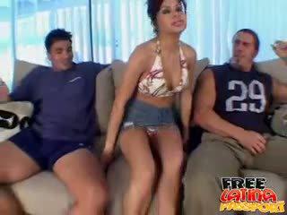 každý bruneta, zábava skupinový sex zadarmo, skontrolovať latina