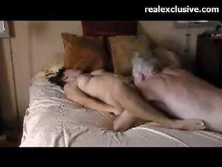 Patricia διασκέδαση με γριά guy με ένα 9 inch thick καβλί