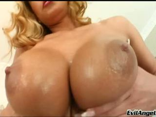 hottest big boobs channel, rated chick, real alluring clip