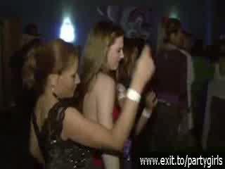 酔った 角質 十代の若者たち ワイルド で a disco ビデオ