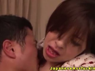 Japanese Mature Gets Ass Ravaged