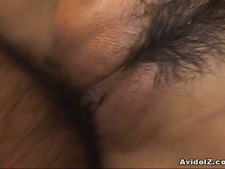 Cycate yuki aida nailed z wytrysk!