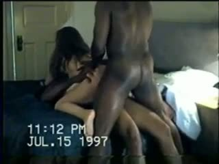 Mature Wife Banged by Two Black Studs