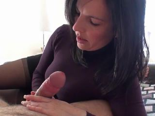 Slow Cock Milking Video