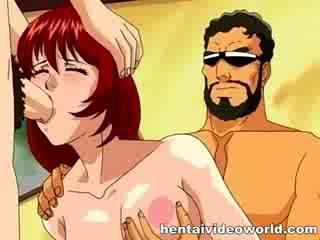 Dp med stor tegnefilm cocks